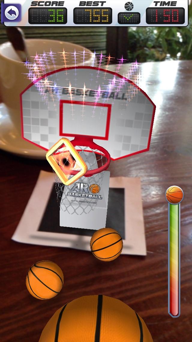 ARBasketball - Augmented Reality Basketball Gameのおすすめ画像3