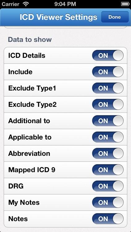ICD 10 HD 2013 screenshot-4