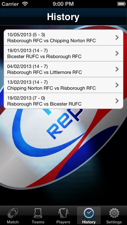Rugby Reporter Pro screenshot-4