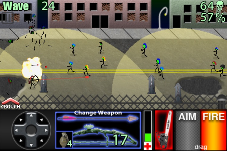 StickBo Zombies Lite screenshot-3