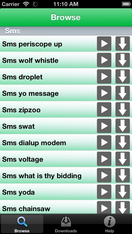 Text Sounds - 500+ tones and sounds