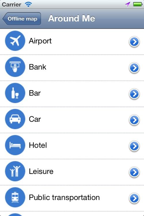 Ibiza the Offline Map screenshot-3