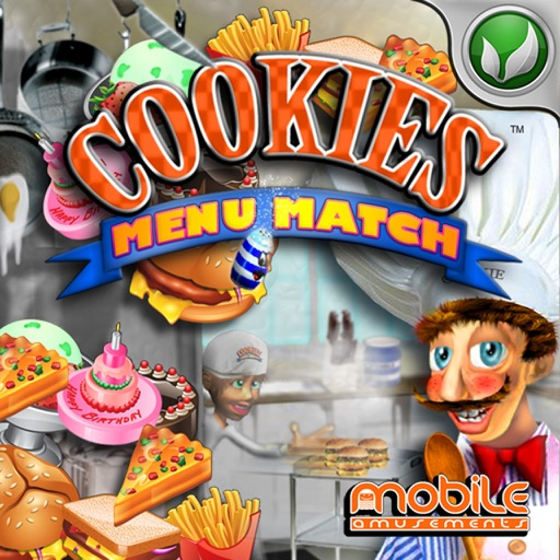 Cookies Menu Match (HD) icon