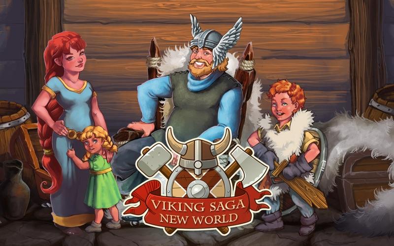 Viking Saga: New World (Freemium) screenshot 1