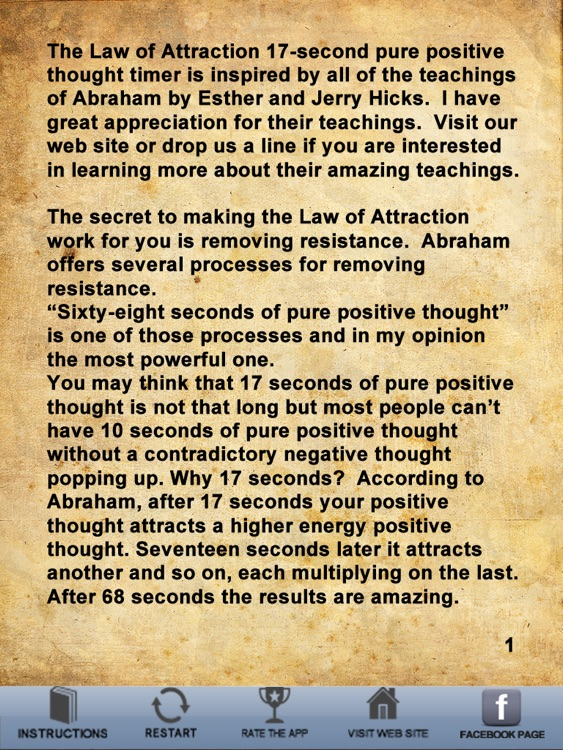 Law Of Attraction Timer HD screenshot-4