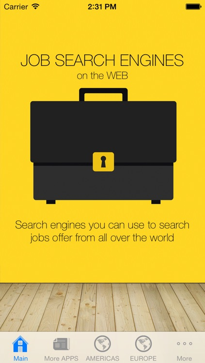 Job Search Engines List: Web Links