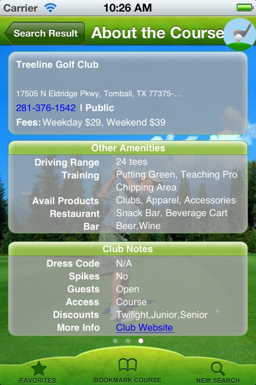 Golf Course Finder Pro screenshot-4