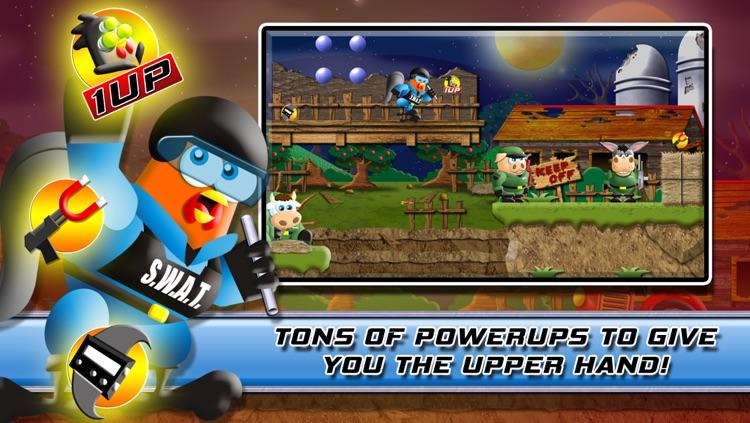 Stealth Chicken Ops: The Bravest Little Commander's Farm Trooper Rescue screenshot-3