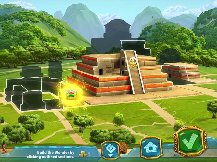 7 Wonders: Ancient Alien Makeover HD (Full) screenshot-3
