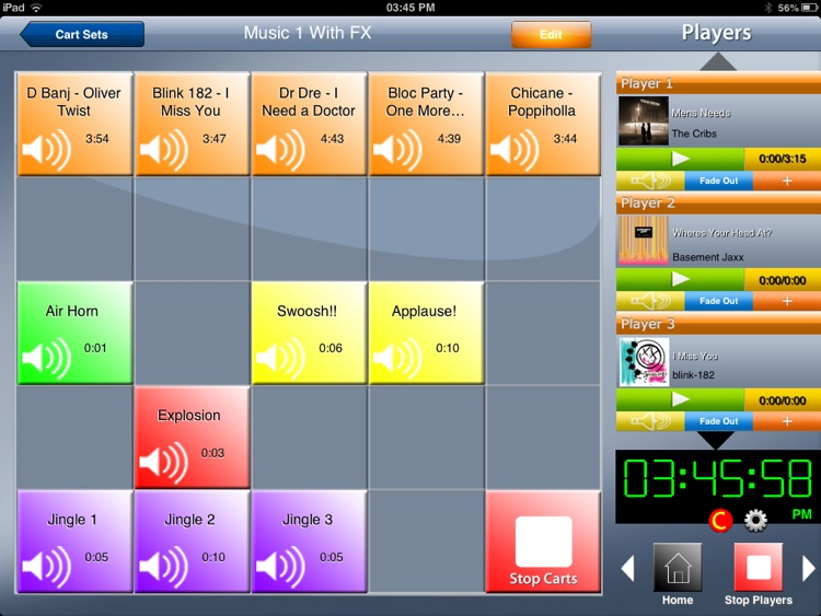 Instant Audio Cartwall Soundboard PRO for iPad