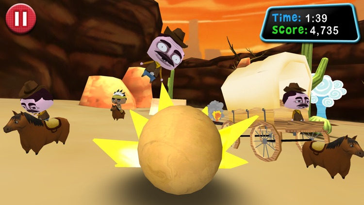 Roll: Boulder Smash! screenshot-4