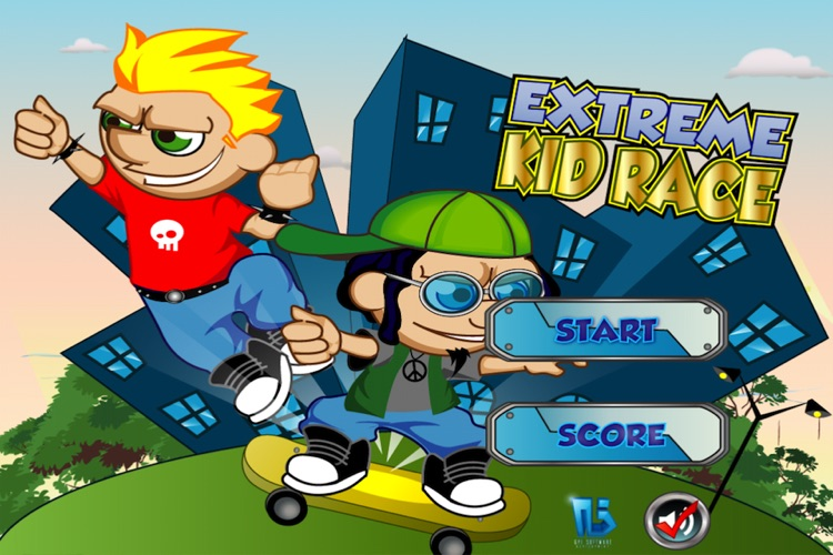 Extreme Kid Race Lite screenshot-0