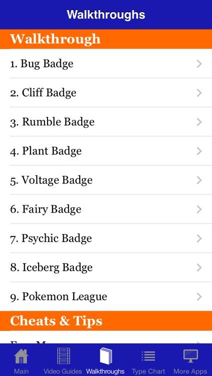 Guide & Cheats for Pokemon X & Y screenshot-3