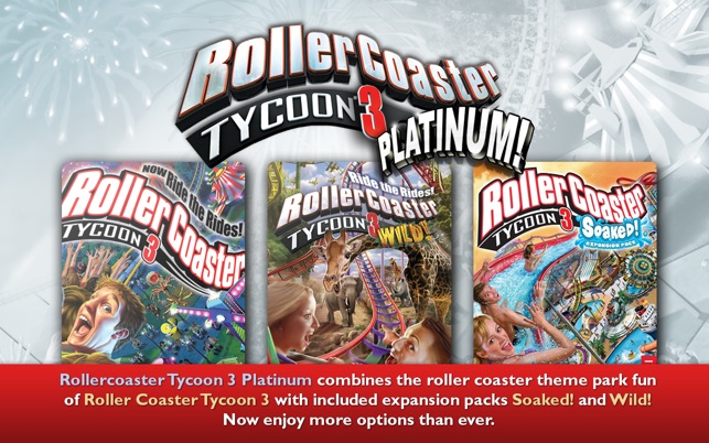 RollerCoaster Tycoon 3 Platinum Screenshot