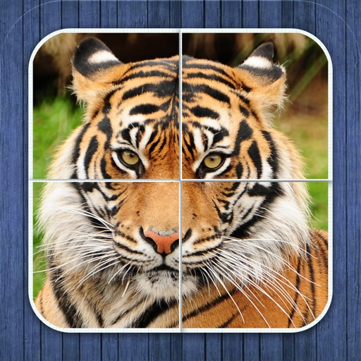 Jungle puzzle - jigsaw puzzle for kids iOS App