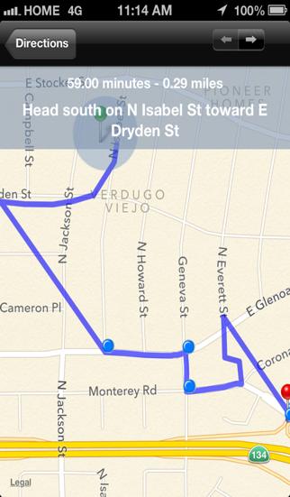 Freeway Finder screenshot four