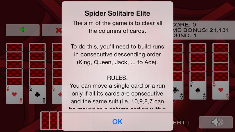 Spider Solitaire Elite