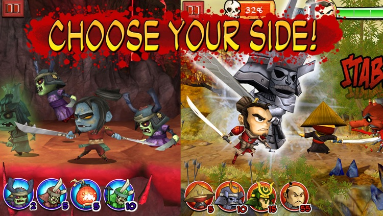 Samurai vs Zombies Defense screenshot-1