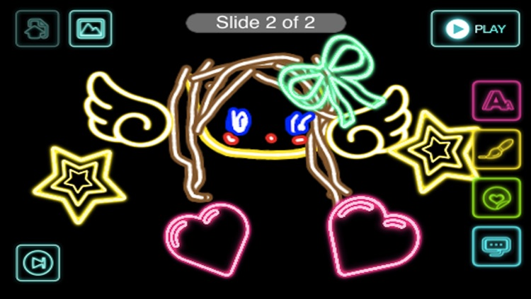 Draw Everything! GLOW Note Free! screenshot-2