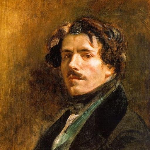 Eugene Delacroix icon