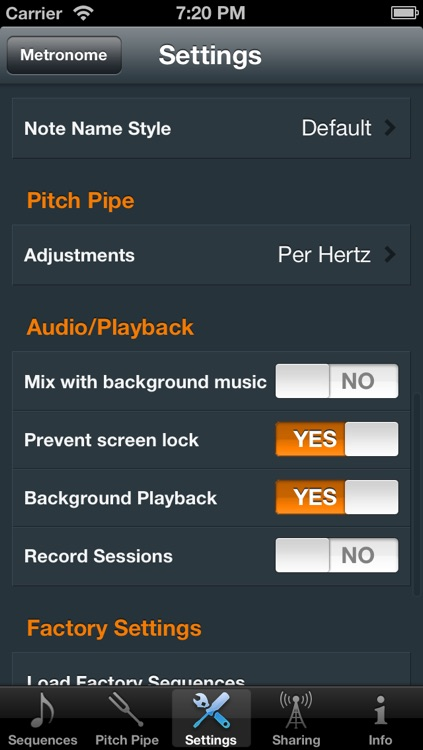 Metron (Professional Metronome) screenshot-4