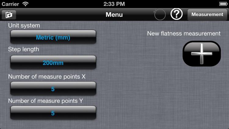 Flatness for ALiSENSOR™ Level screenshot-4