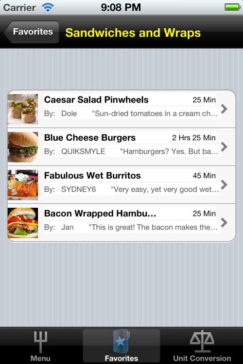 A Recipes screenshot-4