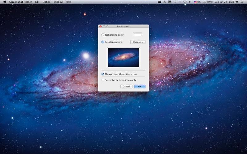 Screenshot Helper for Mac
