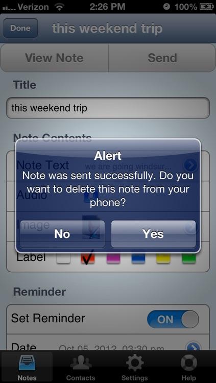 OnQ: Memos with Reminders screenshot-4