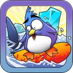 Extreme Penguin Surfing Adventure Crush