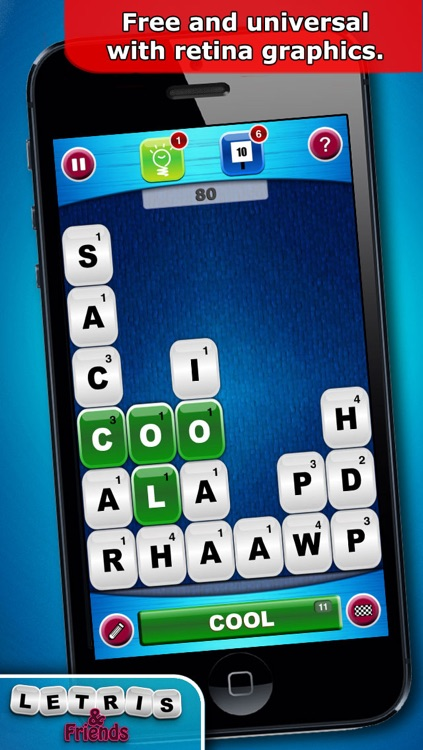 Letris & Friends: Word puzzle game screenshot-3