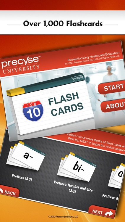 ICD-10 Flash Cards