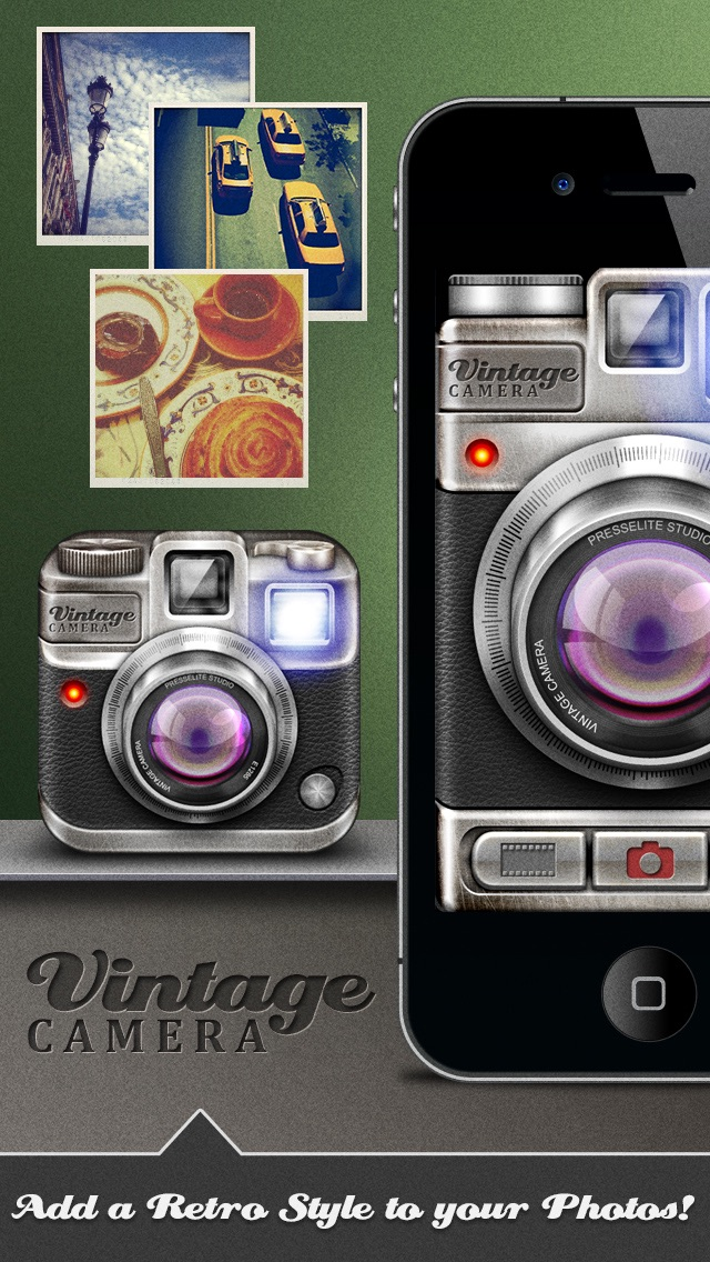 Vintage Camera Pro screenshot one