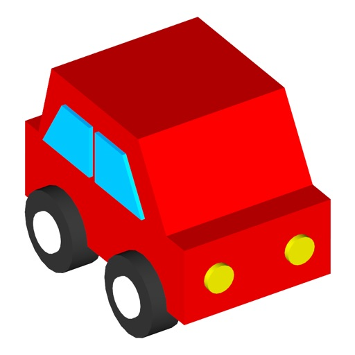 Touch and Move! Service Vehicles (for young children) - Educational Apps Free