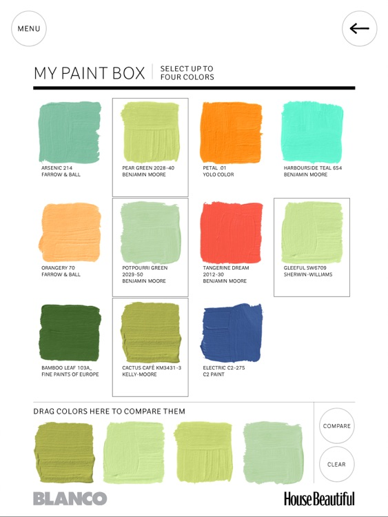 House Beautiful's 500+ Favorite Paint Colors screenshot-4
