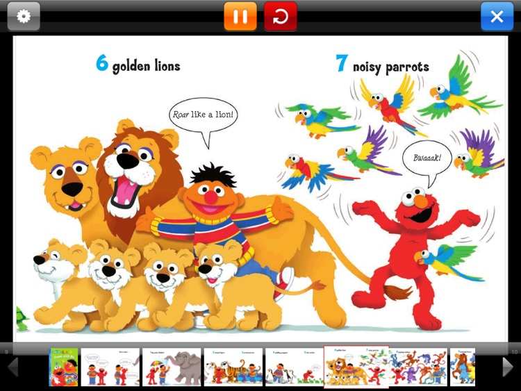 Sesame Street eBooks for iPad screenshot-3