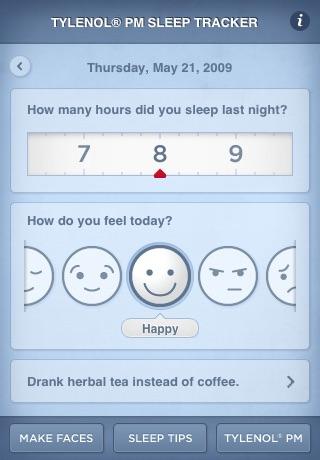 Sleep Tracker   TYLENOL® PM