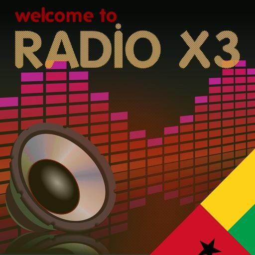 X3 Guinea-Bissau Radios - Rádios da Guiné-Bissau