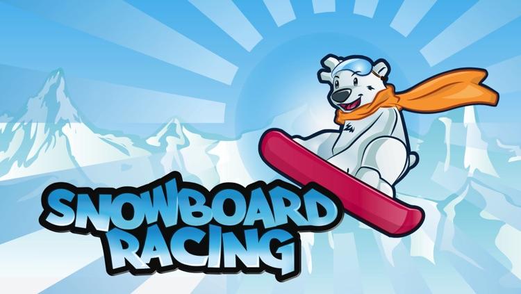 Snowboard Racing Games Free - Top Snowboarding Game Apps screenshot-4