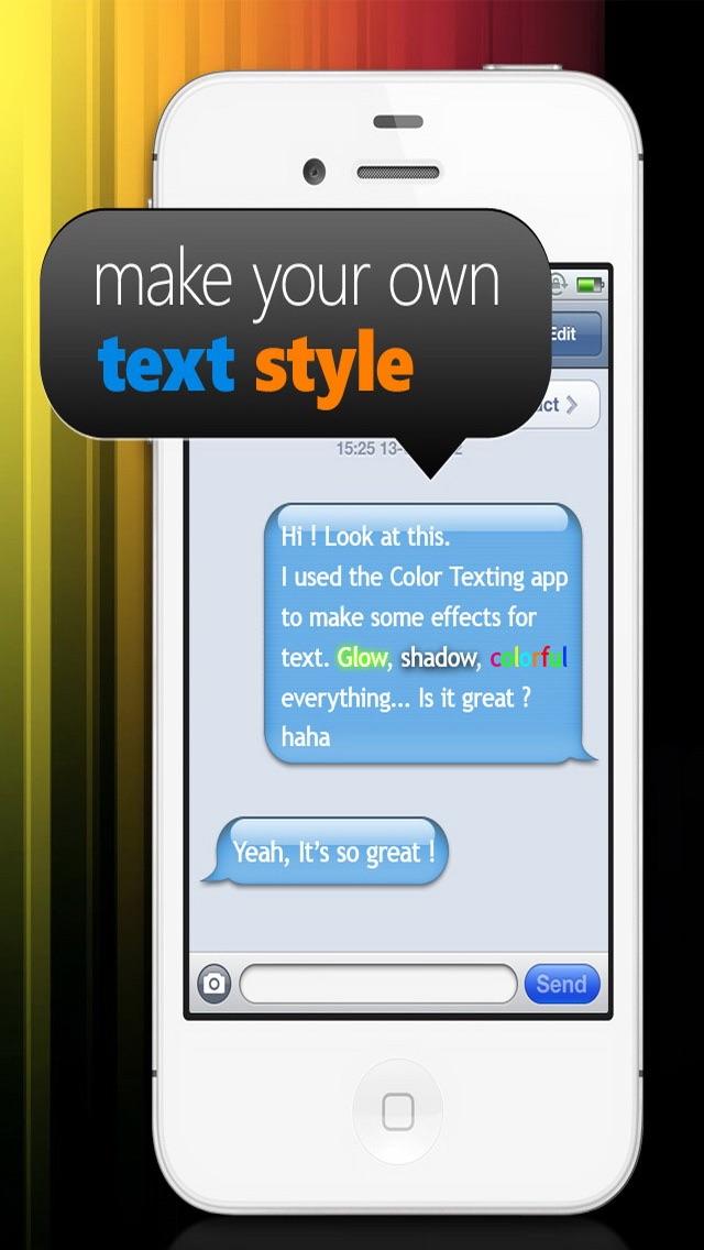 Farben & Schriften – Individuelle Gestaltung deiner Nachrichten GratisScreenshot von 2