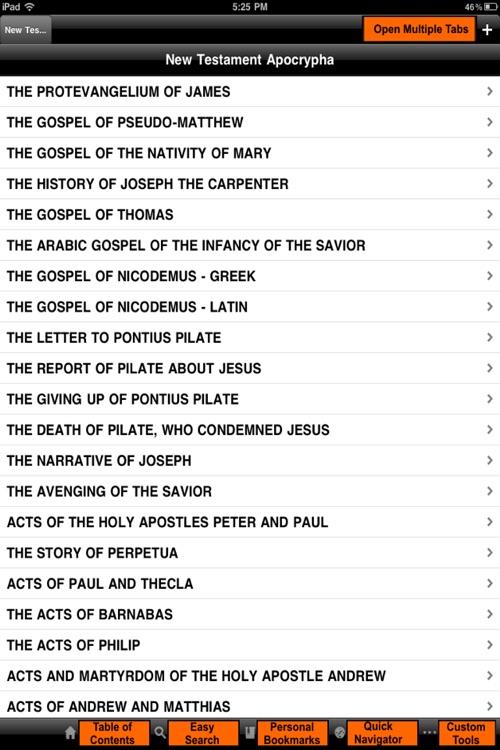 New Testament Apocrypha