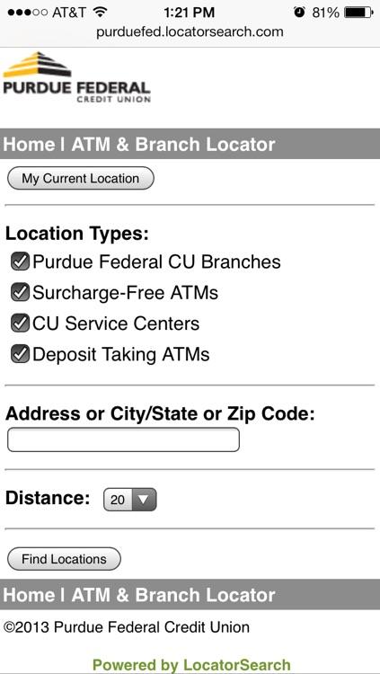 Purdue Federal Mobile screenshot-4