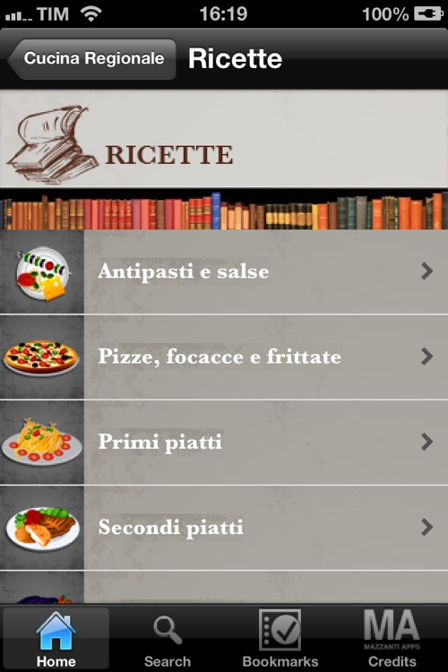 La Cucina Regionale Italiana screenshot-2