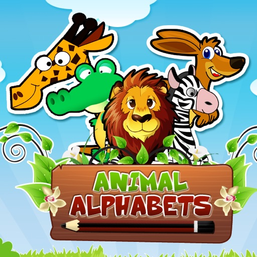Animal  Alphabets HD: Learn , Write and Play icon