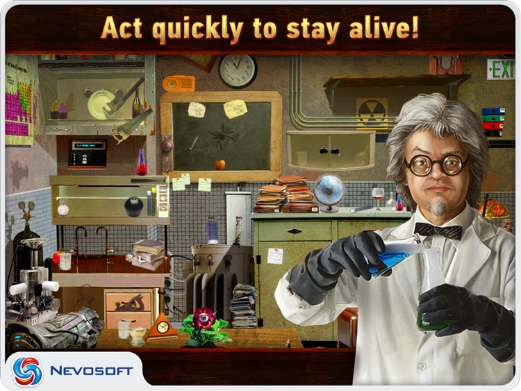 Mysteryville HD Lite: hidden object investigation screenshot-3