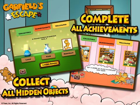 Скачать игру Garfield's Escape