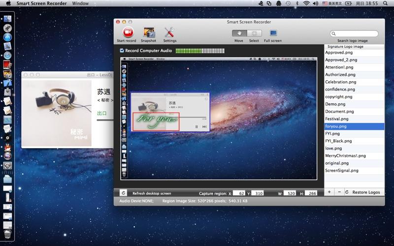 Smart Screen Recorder for Mac