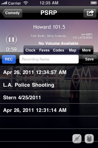 Police Scanner Radio ... screenshot1