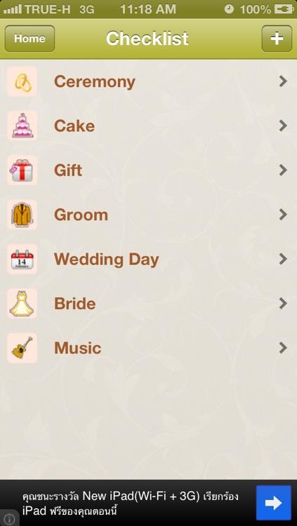 Wedding Checklist (Lite)
