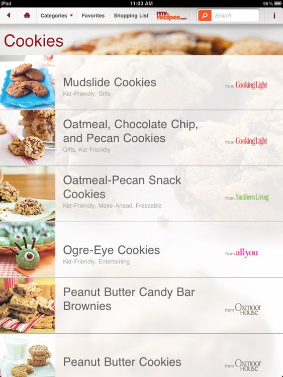 Desserts: MyRecipes Daily Indulgence screenshot-3